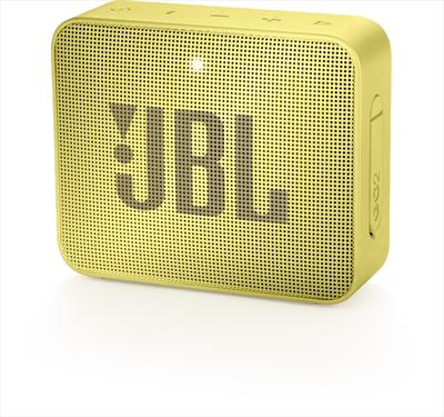 JBL DIFFUSORE GO 2 WIRELESS YELLOW Sistema audio portatile con connettività wireless Bluetooth