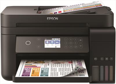 """EPSON MULTIFUNZIONE ECOTANK ET-3750 3 in 1, LCD 6.1\"""", Fronte e Retro, WIFI, ADF, ETHERNET"""