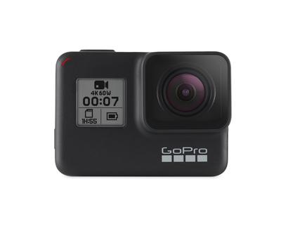 GOPRO TELEC. HERO 7 BLACK video a 1440p80, foto 12mp, imperm.a 10 m, wifi,bluetooth