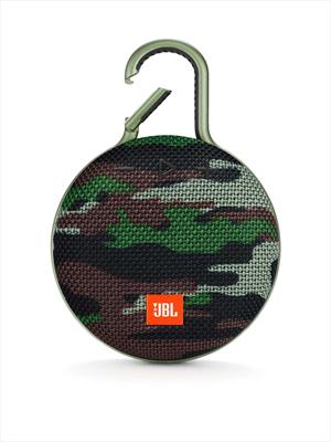 JBL DIFFUSORE CLIP 3 WIRELESS SQUAD speacker wireless Bluetooth, Waterproof IPX7