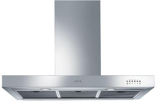 SMEG CAPPA  KS9500XE 90cm Cappa a parete, 90 cm, acciaio inox satinato. Classe A