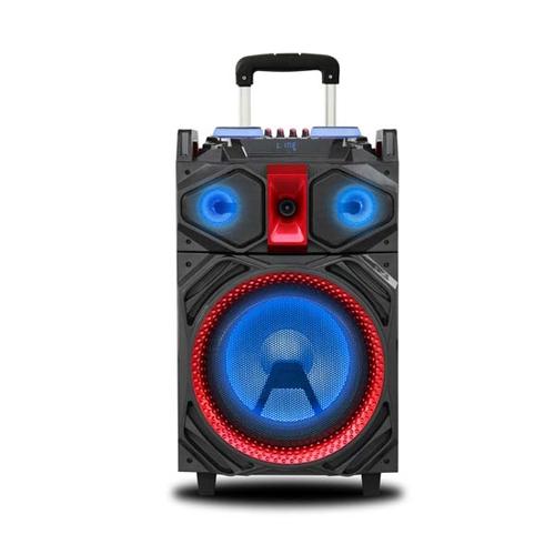 NEW MAJESTIC PARTY SPEAKER DJB-292 BT portatile, batt. ricaricabile, 160W, Bluetooth, effetti luci