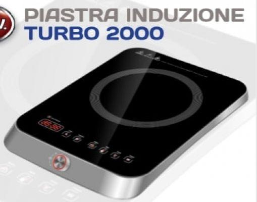 R.G.V FORN.ELETTR.INDUZIONE TURBO 2000 2000 WATT - DYSPLAY DIGITALE - TIMER - 31x41x5.7 CM
