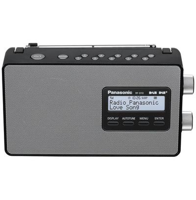 PANAS RADIO RF-D10-EG-K PORT.DAB+ memoria 10 canali, schermo lcd, DAB, DAB+, Nera