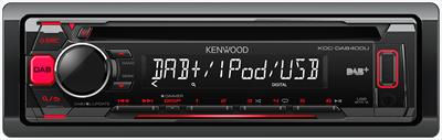 KENWOOD SINTOCD KDC DAB400U Sintolettore CD, DAB+, FM RDS, Antenna inclusa