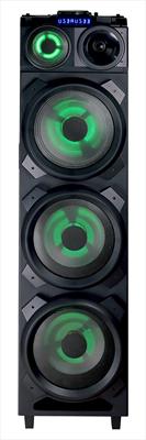 NEW MAJESTIC PARTY SPEAKER DJB-298BT 700W DJ MIXER PARTY SPEAKER BLUETOOTH CON LUCI LED