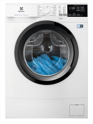 ELECTROLUX LAVAT.EW6S462B 38cm(A+++-10%) perfect care,inverter,vapore,woolmark blue,1200giri, 6kg,