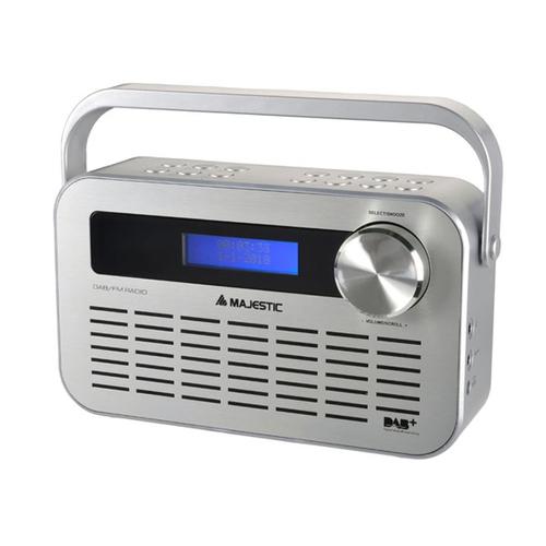 NEW MAJESTIC RADIO DAB-843 RADIO PLL RDS, DAB/DAB+, sveglia doppio allarme