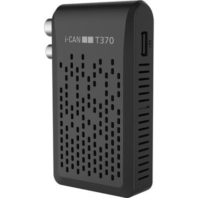 ADB RICEV.DIG.TERR.I-CAN T370 HD ZAPPER Zapper T2 HEVC    USB  Rec&Play  Telecomando universale