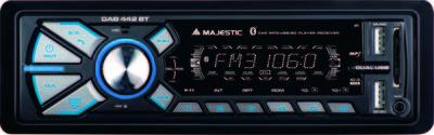 NEW MAJESTIC SINTOLETT. DAB-442 BT RDS FM STEREO /DAB+ doppio USB, 180W (45W x 4)