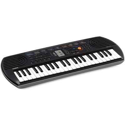 CASIO TASTIERA MUSICALE SA-77 Display, 44 tasti, 8 note, 100 timbri, 10 brani, 50 ritmi