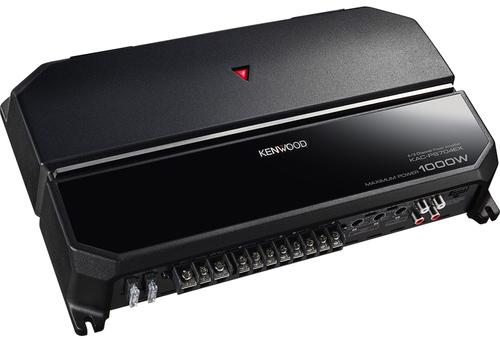 KENWOOD APLIFICATORE KAC-PS704EX Amplificatore x auto di potenza  4, 3 o 2 canali, MAX 1000w