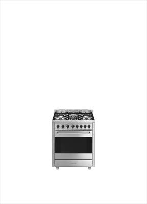SMEG CUCINA B71GMXI-9 INOX 70X60 PROFES Forno Termoventilato, 8 funzioni,5 ripiani, 5 fuochi