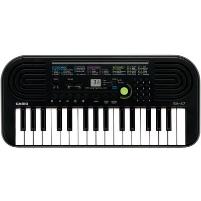 CASIO TASTIERA MUSICALE SA-47 Display, 32 tasti, 8 note, 100 timbri, 10 brani, 50 ritmi