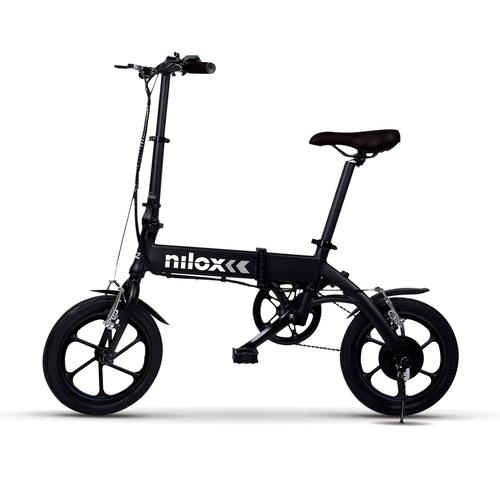 NILOX E-BIKE  X2 PLUS  BLACK Ebike eco,pedalata assistita,velocità di  25Km/h,3-4h autono