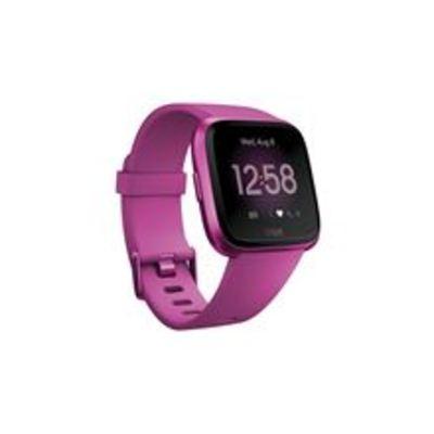 FITBIT VERSA LITE SMARTWATCH MAGENTA smartwatch per benessere con cinturini intercambiabili
