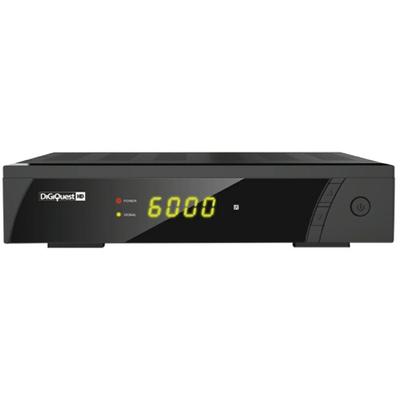 DIGIQUEST RICEV.SAT FREE 8212HD FREE TO AIR 4000 canali, USB Rec & Play , 12/220Vcc