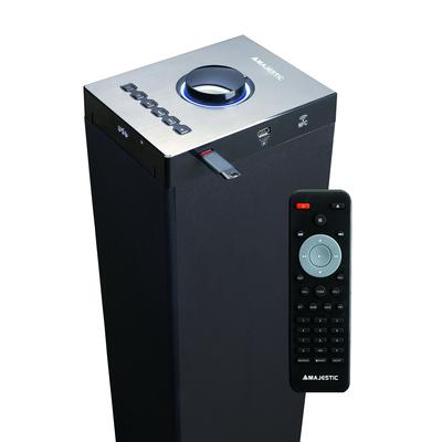 NEW MAJESTIC SISTEMA AUDIO TS-92R BLACK Bluetooth, NFC, lettore CD, 60W, 2xUSB, telecomando