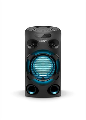 SONY SISTEMA HOME AUDIO MHC-V02 Lettore CD, NFC e Bluetooth, USB Play/Rec, 1ing MiC, Karaoke