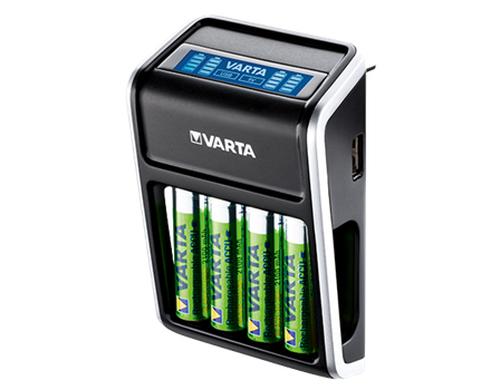 VARTA LCD PLUG CHARGER + 4AA 2100mah LCD PLUG CHARGER (incl. 4AA 2.100 mAh)
