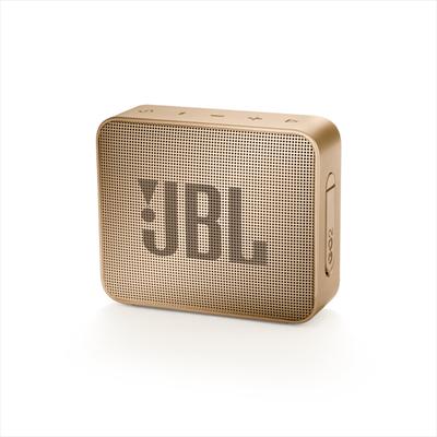 JBL DIFFUSORE GO 2 WIRELESS CHAMPAGNE Sistema audio portatile con connettività wireless Bluetooth