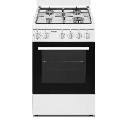 HYUNDAI CUCINA FCHN-50E4 BIANCA 50X60 Cucina a gas, forno elettrico, 4funzioni con grill,coperchio