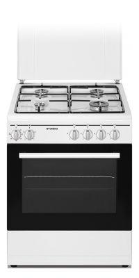 HYUNDAI CUCINA FCHN-60E4L BIANCA 60X60 Cucina a GAS, forno elettrico,4 funzioni con grill,coperhio