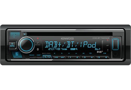 KENWOOD SINTOCD KDC BT730DAB Sintolettore CD/USB/Bluetooth. DAB+, antenna DAB inclusa