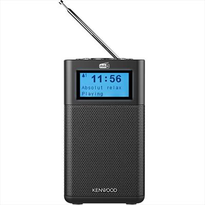 KENWOOD RADIOSVEGLIA CR-M10DAB-B BLACK Bluetooth, Radio DAB+/FM, 5 memorie, Telecomando
