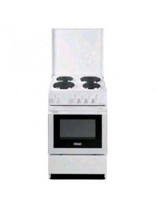 DE LONGHI CUCINA SEW554 PN ED 50X50 4 PI made in italy,sicurezza,4piastre elettr.,forno elettr.bianca