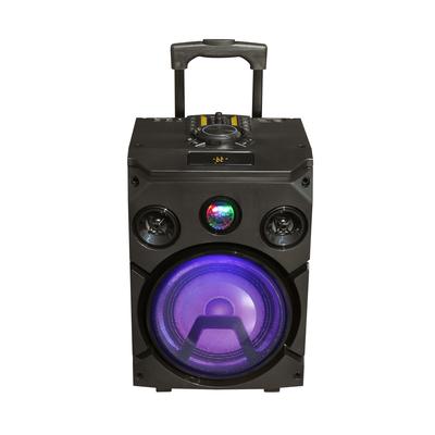 NEW MAJESTIC PARTY SPEAKER DJB-274 BT portatile, batt. ricaricabile, 120W, Bluetooth, effetti luci