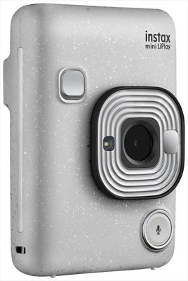 FUJI INSTAX HM1 LIPLAY STONE WHITE Display 2,7 pollici - Batteria al lithio, specchio selfie