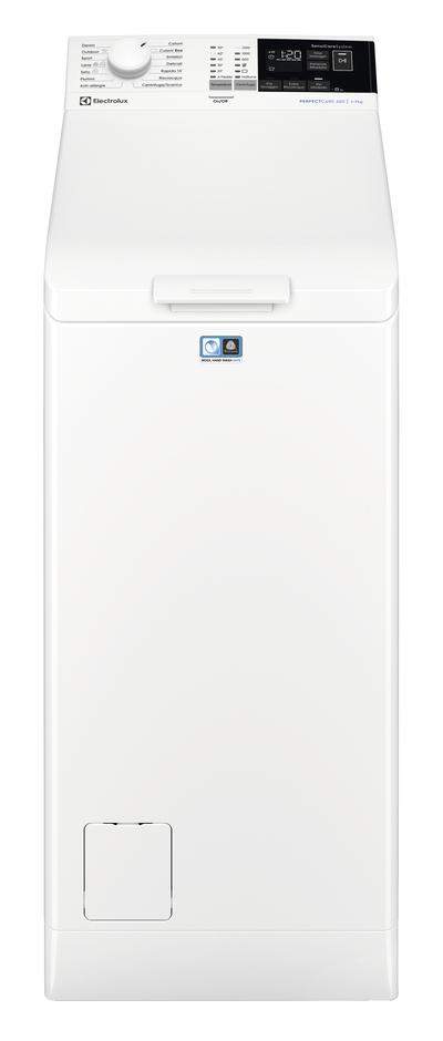 ELECTROLUX LAVAT.EW6T473U 40cm(A+++) perfect care,1300gg,7kg,inverter,vapore,Woolmark Blue