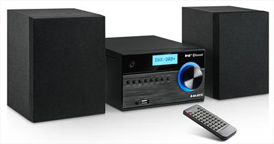 NEW MAJESTIC MICRO AH-2350BT DAB CD/MP3, RADIO FM/DAB, Bluetooth, USB, Telecomando