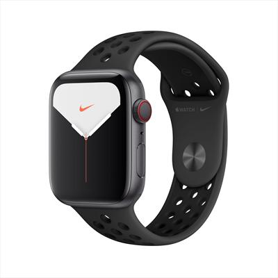 APPLE WATCH NIKE+SERIE 5GPS+CELL 44MM GR Nike+ 5GPS+CELL,44mm Space Grey Allum Case Antrac/Bl Sport B