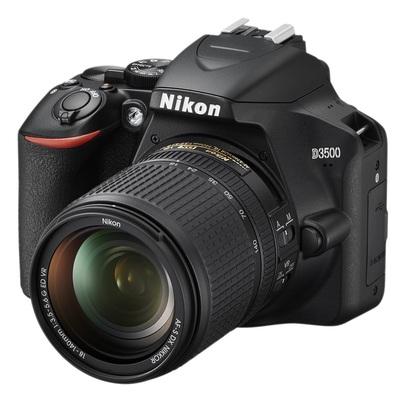 """NIKON FOTO.DIG.D3500+18-140VR KIT 24,2Mp CMOS DX 24.2Mp, LCD 3\"""", filmati Full HD, SD 16GB, bluetooth"""
