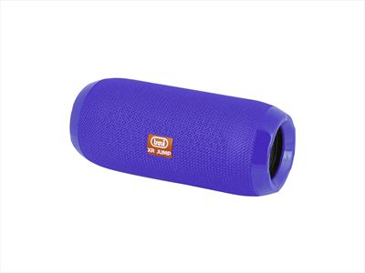 TREVI DIFFUSORE  XR-84 PLUS BLU Speaker Bluetooth, ricaricabile, ing. Micro SD/USB. radio Fm