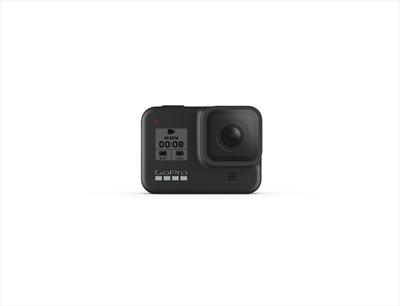 GOPRO TELEC. HERO 8 BLACK video a 1440p80, foto 12mp, imperm.a 10 m, wifi,bluetooth