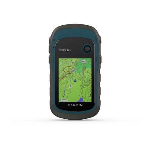 "GARMIN GPS PORTATILE E-TREX 22X ricevitore GPS display 2,2\"" TFT a colori, mem. interna 3.7gb"