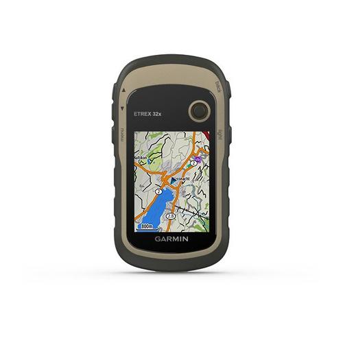"GARMIN GPS PORTATILE E-TREX 32X ricevitore GPS display 2,2\"" TFT a colori, Bussola, Mem.3,7GB"