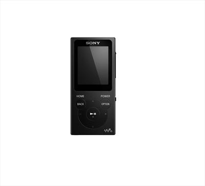 "SONY LETT.MP3 NWE-393LB 4GB MP3/MP4, display TFT 1,8\"", cuffie in-ear, nero"