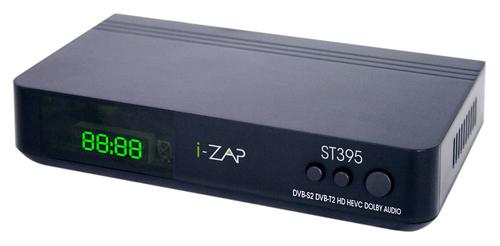 i-ZAP RICEV.DIG.TERR.I-ZAP ST395 HD COMB