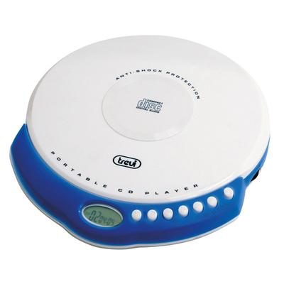 TREVI LETT.CD PORT CMP 498 BIANCO LEGGE MP3/CD-R/RW,ESP 60/120SEC.,DISPLAY LCD