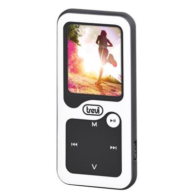 """TREVI LETT. MP3 MPV-1780SB 8GB BLACK  Mp3 per uso Sportivo, LCD 1.8\"""", contapassi/Bluetooth"""