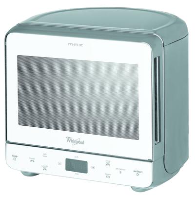WHIRLPOOL M/O MAX39 WSL SILVER CRISP crisp,3d,grill al quarzo,touch screen,piatto 28cm,silver