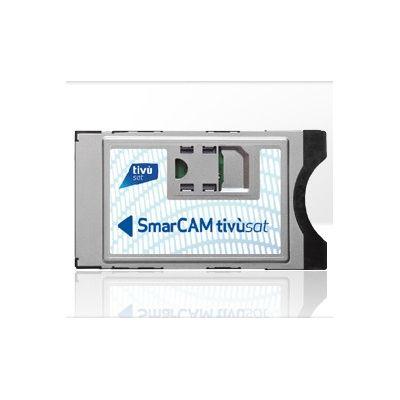 "SMARDTV MODULO CAM TIVU-SAT + CARD SMARCAM+tessera \""SOLO\"" x decoder e Tv con sintoniz.satellite"