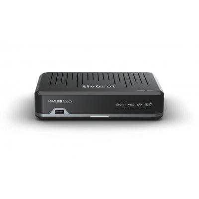 ADB RICEV.TIVU-SAT I-CAN 4000S HD Tivù-Sat HD, 2 SLOT, telecomando univ., Ethernet, Wi-Fi