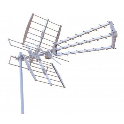 DIGIQUEST ANTENNA COMBO VHF/UHF ch. 5-12/21-69, guad. 7-10db/10-14db, 28 elementi
