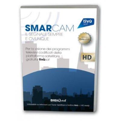 DIGIQUEST BUNDLE CAM TIVU-SAT + CARD Smarcam Tivù-sat C.I. Plus  + smart card