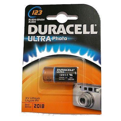 DURACELL 3V 123 LITIO FOTOGRAFIA